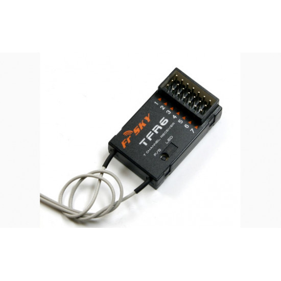 FrSky TFR6 7ch 2.4Ghz Receiver FASST (Futaba) Compatible