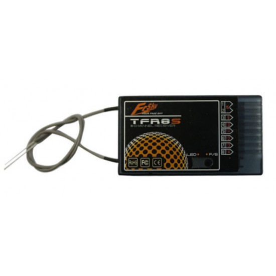FrSky TFR8-S 8ch 2.4Ghz Receiver FASST (Futaba) Compatible