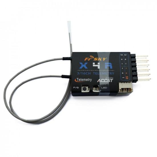 FrSky X4R-SB 2.4Ghz 3/16 Channel Receiver w/ S.BUS (Taranis) - EU