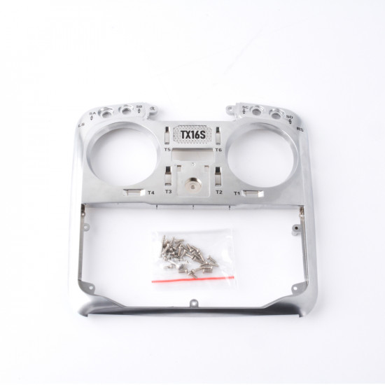 RadioMaster TX16s Replacement Front case Silver