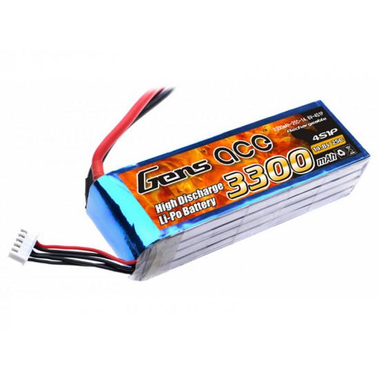 Gens Ace 3300 mAh 4S 14,8V 25C