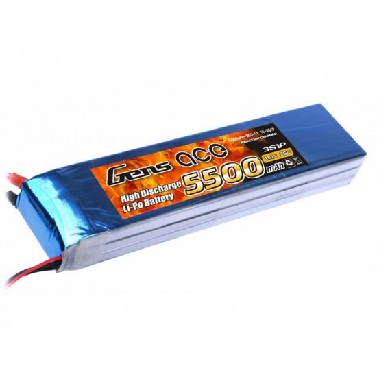 Gens Ace 10.000 mAh 6S 22,2V 25/50C
