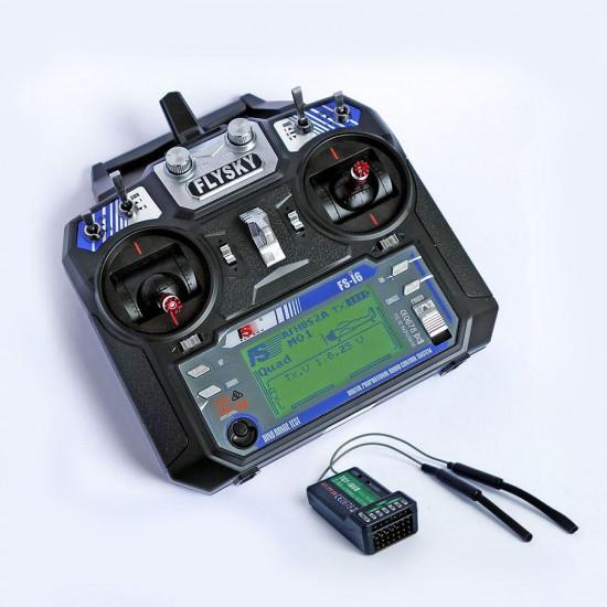 FlySky FS-i6 2.4GHz Computerized RC 6-ch Transmitter & RX (Mode 2)